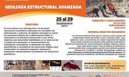 Posgrado: Geología Estructural Avanzada