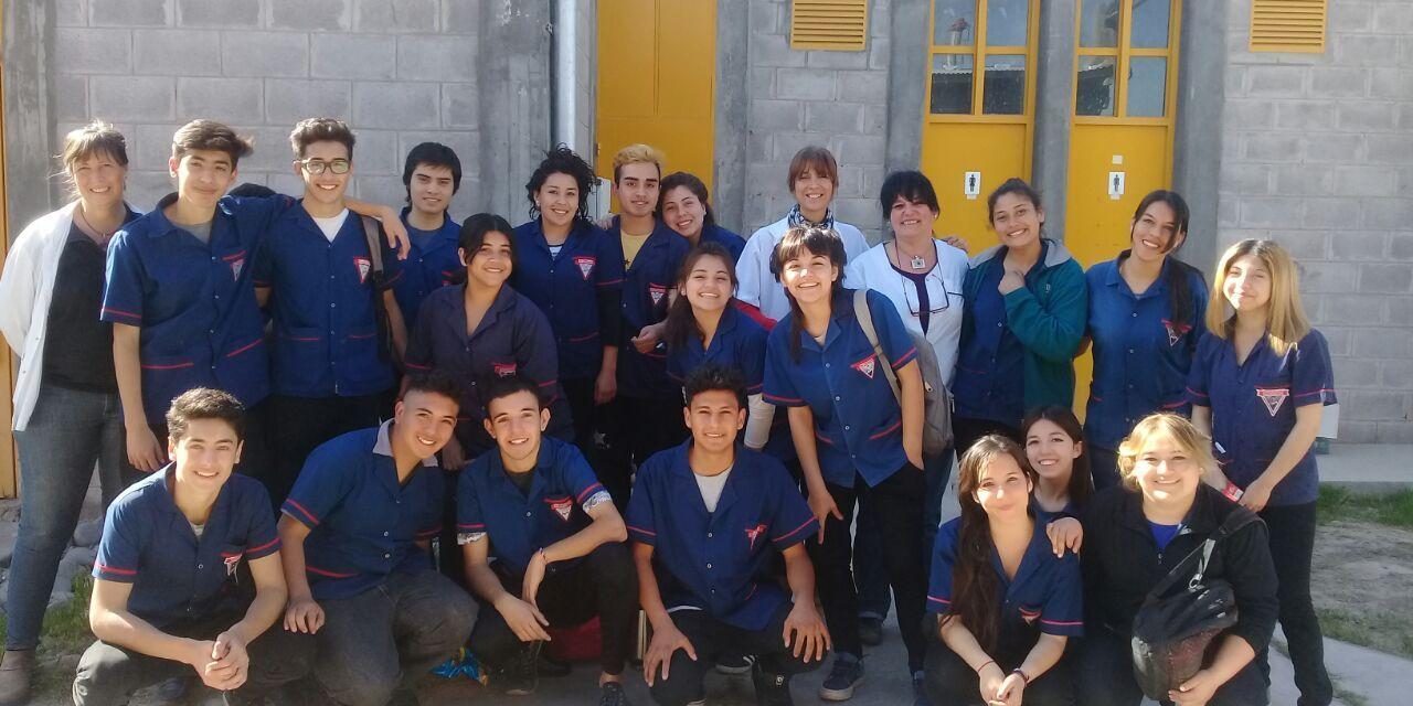 Visita de alumnos del Colegio Barrio Parque Rivadavia Norte