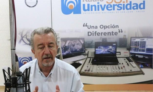 El Decano Rodolfo Bloch realizó el balance del año en Radio Universidad