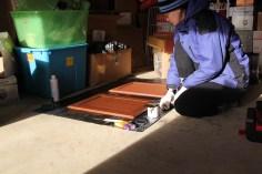 Adding decorative glaze