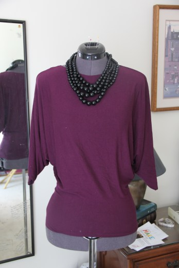 Purple shirt for a dinner party with friends!