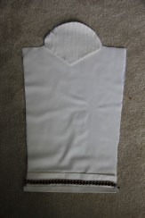 Sleeve with quilted shoulder