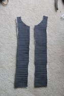 Quilted bib front