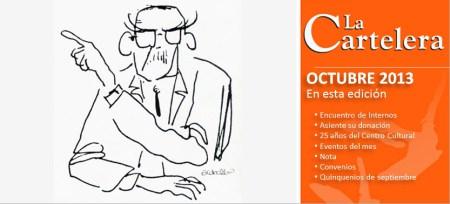 La Cartelera Octubre 2013