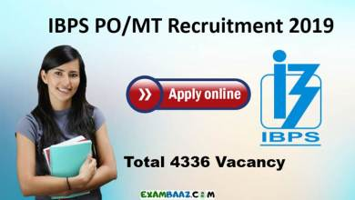 Photo of IBPS PO Vacancy 2019 :Recruitment notification, exam date, vacancy Details