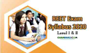 Photo of Download REET Exam Syllabus 2020 Level I & II