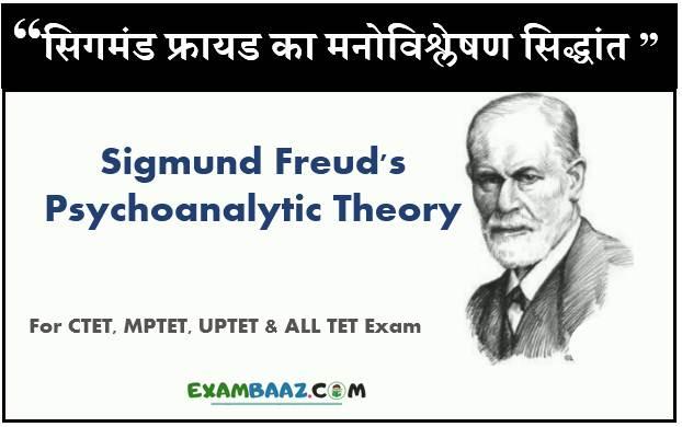 Sigmund Freud Theory In Hindi