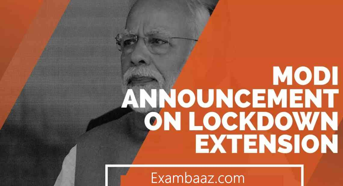 PM Modi set to announce LockDown Increase to 03 May 2020