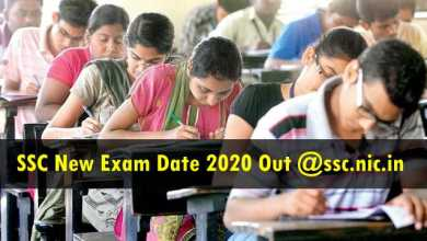 Photo of SSC New Exam Schedule 2020 Released: Check SSC CHSL Exam, SSC Phase 8 Exam, SSC Steno Exam, SSC JE Exam and Other Exams Dates Here