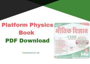 Platform Physics Book