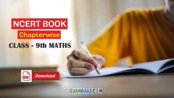 NCERT Class 9 Maths Chapter 3 pdf | Class 9 Coordinate Geometry pdf