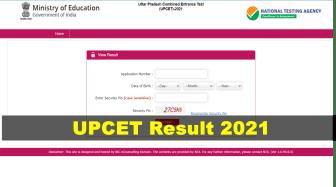 UPCET Result 2021 Out: एनटीए ने जारी किया उत्तर प्रदेश कॉमन एंट्रेंस टेस्ट परीक्षा परिणाम, upcet.nta.nic.in पर देखे रिजल्ट
