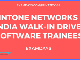 Intone networks walk in drive