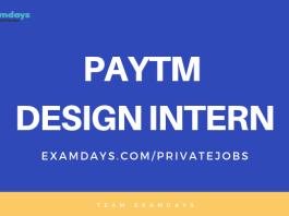 paytm intern