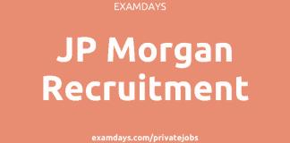 jp morgan recruitment