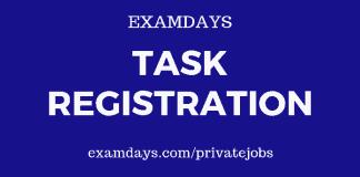 task registration