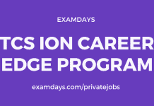 tcs ion career edge program registration