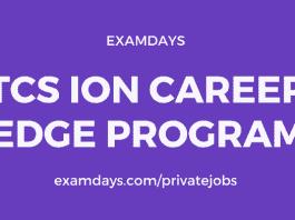 tcs ion career edge program registration