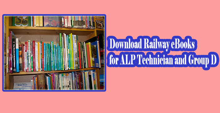 Download Free Railways Books for Exam Preparation Assistant Loco Pilot ALP Best Books