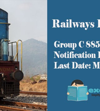 RRB Recruitment 2018 RRB 885 Group C posts Notification Released Last Date March 27 2018.