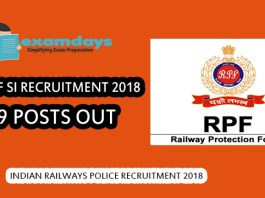 RRB RPF SI Recruitment 2018 Notification Out, 9739 Constable & SI Posts - Check Details