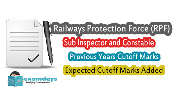 RPF SI Previous Cutoff and Expected Cutoff 2018