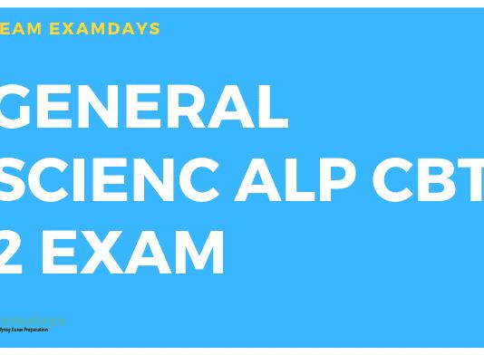 ALP CBT 2 General SCIENCE