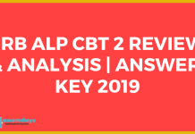 RRB ALP CBT 2 answer key