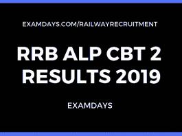rrb alp cbt 2 result