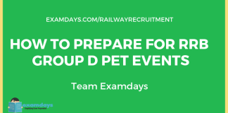 rrb group d pet preparation