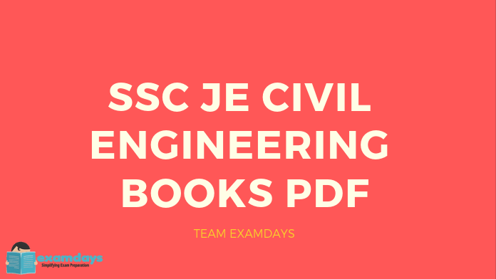 All Latest SSC JE Civil Engineering Books PDF 2019