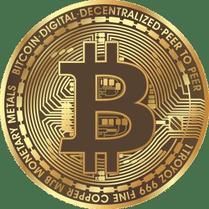 Pièce de Bitcoin. Calculer la probabilité du jeu de Pile ou Face