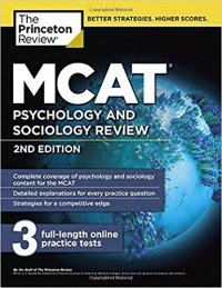 MCAT Psychology and Sociology Princeton Review