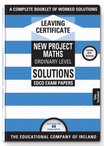 leaving certificate maths edco exam papers solutions higher
