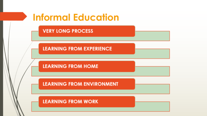 Informal Education