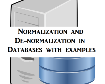 Normalization-and-Denormalization-in-Databases-with-examples