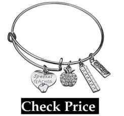 Infinity Collection Teacher Bracelet, Teacher Jewelry