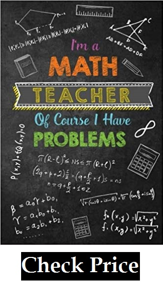 Funny Math Teacher Appreciation Book