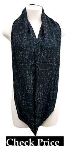 Mathematics infinity scarf for engineers, teachers, nerds