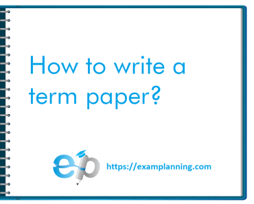 how-to-write-a-term-paper