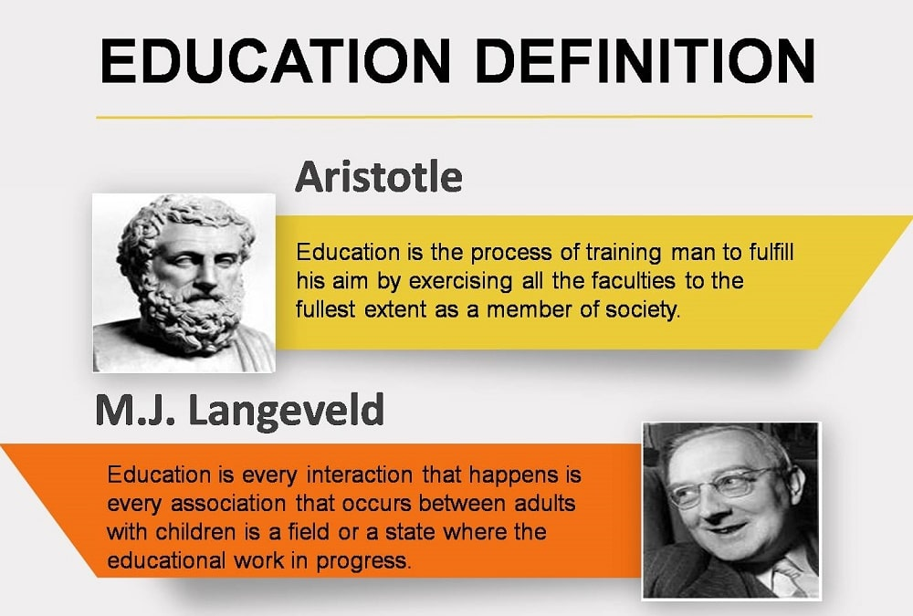 education meaning in english