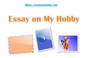 essay on my hobby
