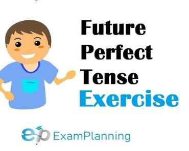 Future perfect tense exercises