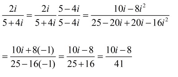 complex number division