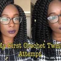 My First Crochet Twist Attempt: Talk Through & Demo