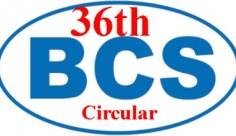 36 bcs circular