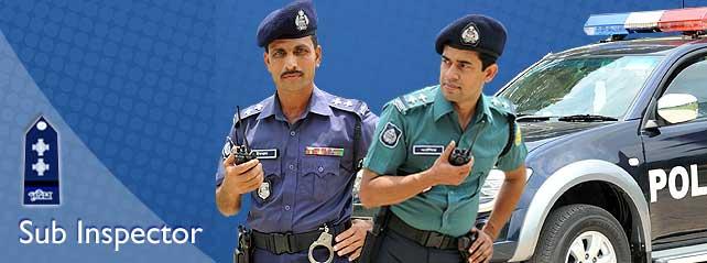 Police SI Circular