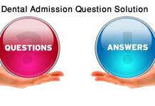 Dental Question Solution