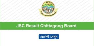 JSC Result 2018 Chittagong Board