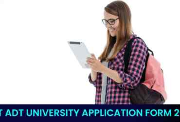 MIT ADT UNIVERSITY APPLICATION FORM 2021